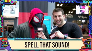 Spell that Marvel Sound at NYCC 2019!