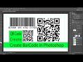 PHOTOSHOP : Create Bar Code and QR Codes.....