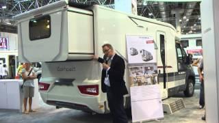 Adria Slide-Out-Wohnmobil auf dem Caravan Salon 2015
