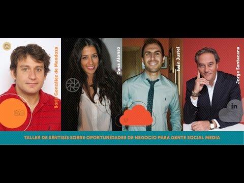 iRedes 2016 - Taller de Séntisis sobre Oportunidades de negocio para equipos de Social Media