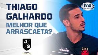 Melhor que Arrascaeta? Thiago Galhardo, do Vasco, canta no JS!