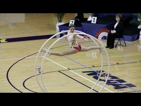 World Championships in Gymwheel 2016 Team Final Israel Liron Di Castro Straight line