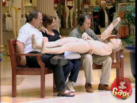 Naked Mannequin Prank video