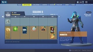 EVERYTHING NEW from the Season 9 Battle pass - Fortnite Max Tier 100 Battlepass