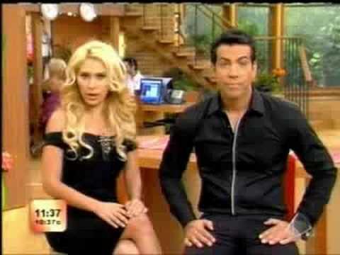JIMENA famosa presentadora de TV Hispana