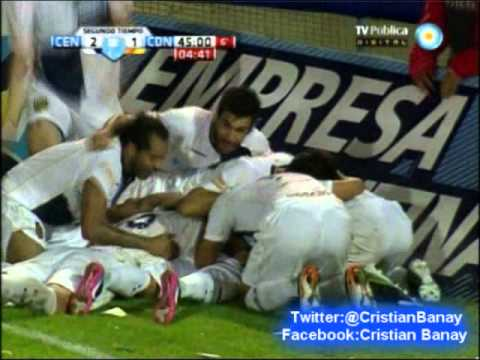 Rosario Central 2 Crucero del Norte 1 (Relato Jesus Emiliano) Torneo Nacional B 2012-13 (26/4/2013)