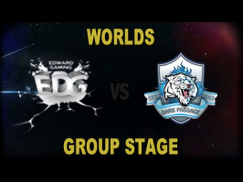 EDG vs DP - 2014 World Championship Groups A and B D2G2