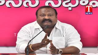 MLA Gangula Kamalakar and Vivekananda Fires on Congress Party  live Telugu
