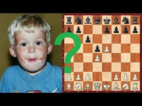 Шахматы. Юный Магнус Карлсен снова ЧУДИТ В ДЕБЮТЕ!