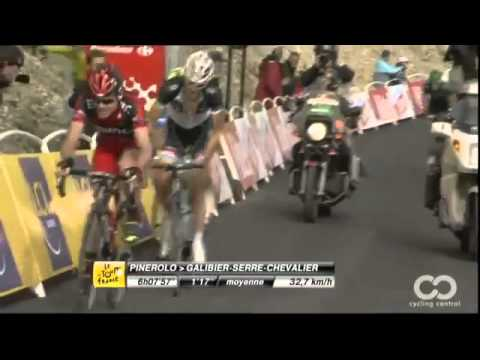 Tour de France - Etapa 18° Andy andy schleck - thomas voeckler