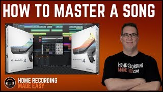 Presonus Studio One Pro - Mastering a Song