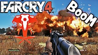 Far Cry 4 Nuclear Explosion #[Map Editor]
