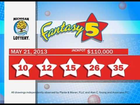 Michigan Lottery Evening Draws for May 21, 2013