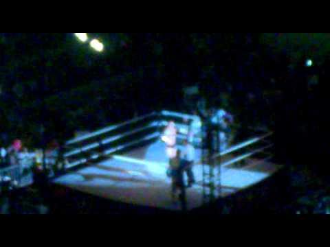 WWE Live, Abu Dhabi: John Cena Vs. Bad News Berret (for the intercontenental championship) 14/2/2015