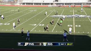 Full broadcast of the Rampart vs Palmer boys soccer game