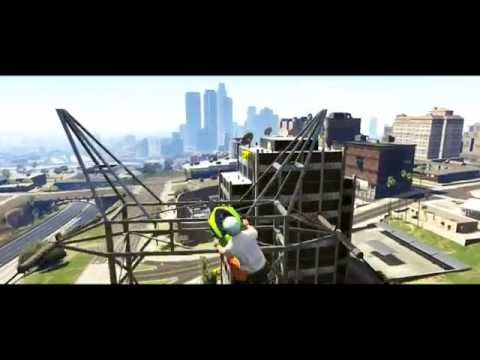 EPIC GTA 5 STUNT MONTAGE! (Jets, Bugatti, Motorbikes and BMX Stunts)