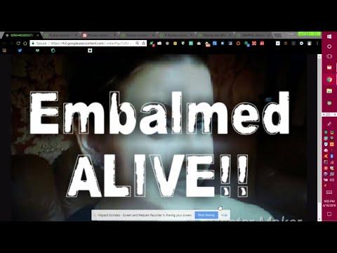 Russian Woman Embalmed Alive!!!