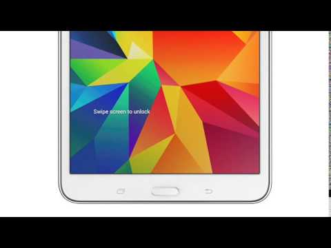 Samsung Galaxy Tab4 7.0, 8.0 and 10.1
