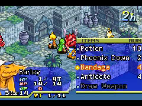 Final Fantasy Tactics Advance Anarchy - Final Fantasy Tactics Advance Anarchy Walkthrough 2(GBA) - User video