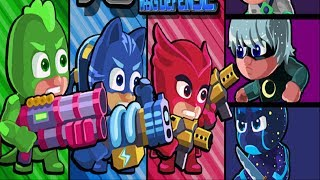 PJ Masks Defense - Superheroes Catboy Gekko Owlette VS Villains Romeo Luna Girl Ninjalinos