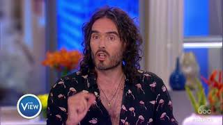 Russell Brand On Twitter Feud With Trump, Family, Overcoming Addiction | The View