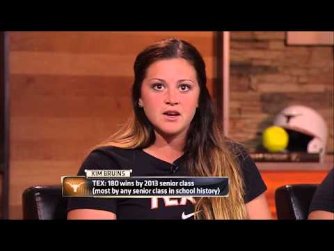Kim Bruins and Marlee Gabaldon visit Longhorn Network [May 14, 2013]
