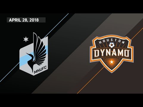 HIGHLIGHTS: Minnesota United FC vs Houston Dynamo | April 28, 2018 thumbnail