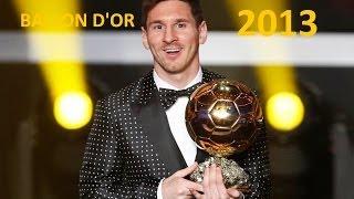 Lionel Messi ► Ballon d'Or 2013 ● Skills & Goals 13-14
