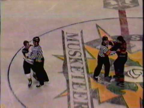 Thunder Bay Flyers vs. Souix City Musketeers 1998