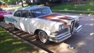 1958 Edsel Ranger: Rare AC Option Car Part 1 of 2