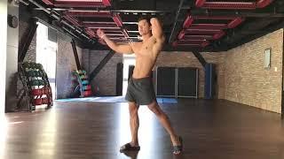 Nhà vô địch Nguyễn Duy hướng dẫn biểu diễn fitness