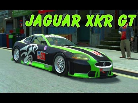Jaguar XKR GT Racing Car - GTA IV MOD