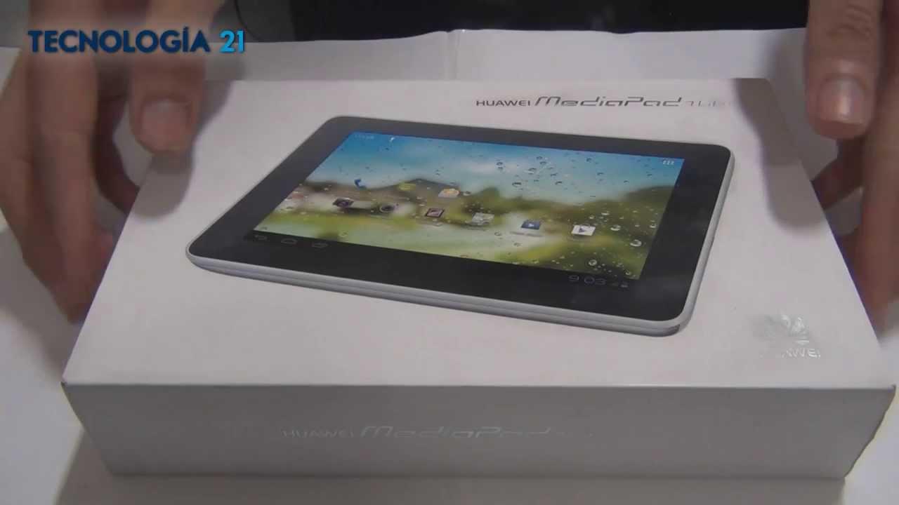 review tablet huawei mediapad 7 lite youtube. Black Bedroom Furniture Sets. Home Design Ideas