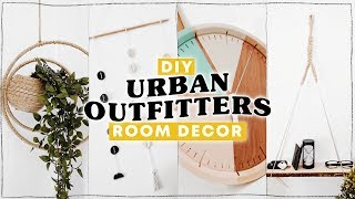 DIY URBAN OUTFITTERS ROOM DECOR ✨ Affordable + Super Easy // Lone Fox