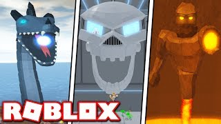 FIGHT COLOSSAL GIANTS in NEW EPIC MINIGAMES UPDATE!! *LOCH NESS MONSTER & MORE!* (Roblox)