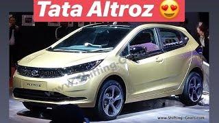 2019 Tata Altroz Premium Hatchback (Exterior & Interior), Baleno rival