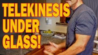 WOW! Chi Master Moves Objects Under Glass (Telekinesis) - Real or Not?