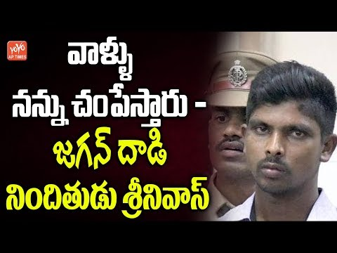 YS Jagan Case Accused Srinivasa Rao Sensational Comments | YS Jagan Airport Incident | YOYO AP Times