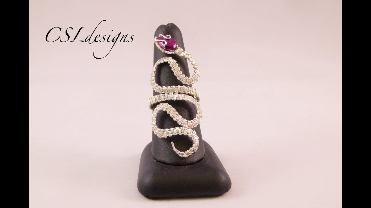 Wire Snake Ring Tutorial