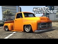 FAST AND FURIOUS 4   Pickup Truck (Stealing The Oil Scene) Car Build!    Gta 5