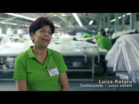Oamenii care produc saltelele JYSK: Luiza Rotaru