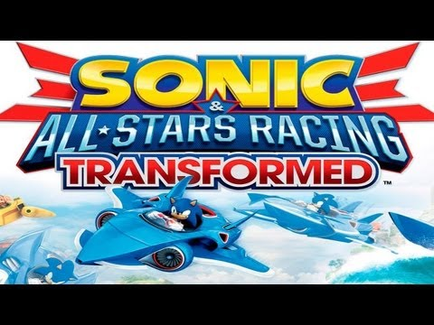 Sonic de carro Transformed - Gameplay Shadow - Xbox 360