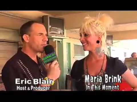 IN THIS MOMENT's Maria Brink talks with Eric Blair about overcoming life's tragedies. Video
