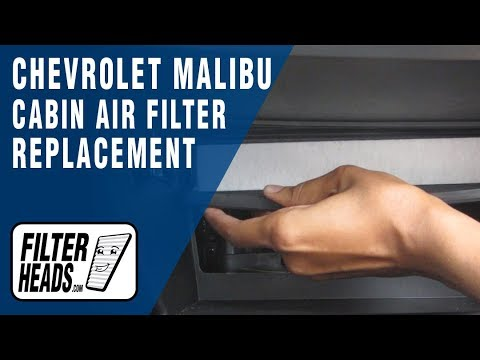 Cabin air filter replacement - Chevrolet Malibu