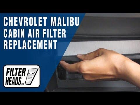 Cabin air filter replacement - Chevrolet Malibu