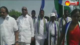 YSRCP leader IV Reddy paticipates in  sangibava yatra in Giddaluru