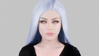 VIDEO GAME MAKEUP - FINAL FANTASY / ANIME INSPIRED EASY COSPLAY TUTORIAL