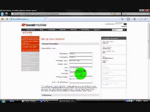 COMO ACTIVAR UN TELEFONO BOOST MOBILE - HOW TO ACTIVATE A BOOST MOBILE PHONE