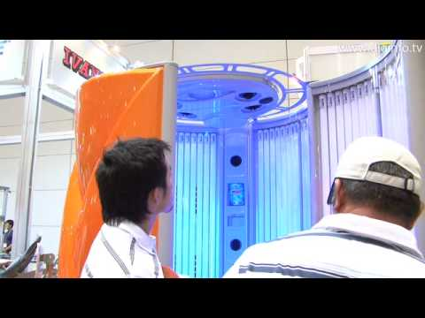 Vertical tanning machine Ultrasun i9: DigInfo