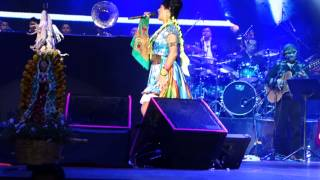 "Lila Downs con 3ball MTY ""La Madrugada"" & ""Intentalo"" @ Auditorio Nacional DF 9-29-13"